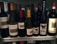 ワインもあります