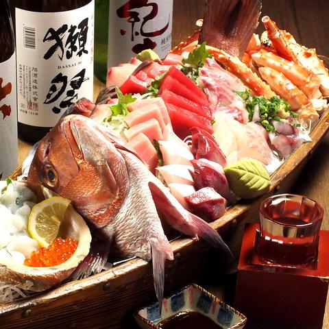 野毛の名店【叶家】!!最大80名様迄宴会OK★ 珍しいお酒や新鮮な海鮮が大人気♪