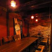店内奥のテーブル個室は大人気!周りが気にならないプライベート空間です。