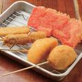 料理メニュー写真串カツ盛り合わせ(5品盛り)