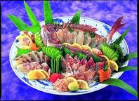 朝獲れの新鮮な魚介を提供