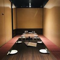 全席完全個室のプライベート空間