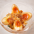 料理メニュー写真燻製卵の明太子ポテトサラダ