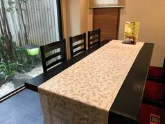 1階には個室をご用意しております。扉のある完全個室になり、ご家族様や接待利用などでご利用OKです。