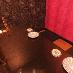 【カップルシート】2名様でご利用いただけるカップルシート♪こちらも完全個室です!デートや仲の良い友達と、2人で贅沢にサーバーをご利用いただけます!【鹿児島/騎射場/居酒屋/宴会/飲み放題/単品飲み放題/個室/完全個室/貸切/肉/魚】