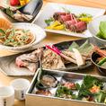 全国各地に出向きこだわった食材をふんだんに使用した越後料理を堪能、飲み放題付コースはニーズに合わせてお選び頂けます。