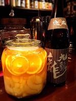 日本酒サングリア♪