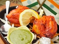 料理メニュー写真タンドリーチキン1Leg Tandoori Chickenk(1leg:2p)
