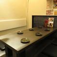 6名用のテーブル席