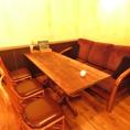 各種宴会にオススメのテーブル席