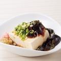 料理メニュー写真ピータン豆腐