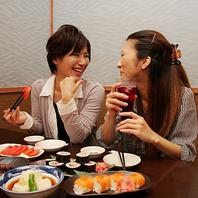 女子会コースが大人気♪好きな料理をチョイス可能♪