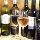 鉄板料理に合うワインも充実★