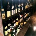 本格焼酎や厳選地酒などお酒の種類も豊富です!