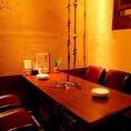 6名様までご利用可能なVIP個室は、落ち着いてゆっくりとお食事をご堪能いただきたい方にぴったりなお部屋です。