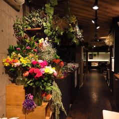花カフェ トラジェの雰囲気1