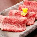 料理メニュー写真仙台牛のしゃぶしゃぶ