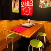 2名様~の少人数でも、もちろんお一人様でもゆったりテーブル席へご案内いたします!開放感のある店内にてのんびりお寛ぎ下さい!