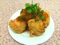 料理メニュー写真ネギおろしポン酢唐揚(むね5コ入り)