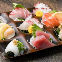 こだわりの鮮魚料理の数々!