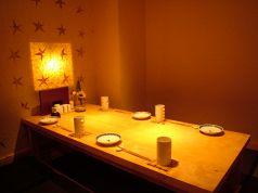 接待・食事会にもご利用いただける掘りごたつ式個室