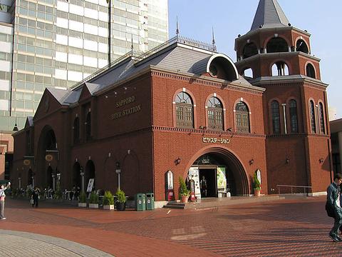 恵比寿ガーデンプレイス入り口にあるレンガの館です。