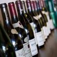 お肉との相性抜群◎ワイン・シャンパン・各種飲み放題プランご用意しております。