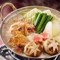 料理メニュー写真鶏の酒粕白味噌鍋2人前
