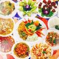 中国人シェフによる本格中華が<男性2,850円/女性2,750円>で、たっぷり150分食べ飲み放題!四川麻婆豆腐、酢豚、エビチリ、焼餃子などなど!炒め物、麺飯類、点心まで豪華50種類以上!飲み放題付なので、各種宴会でも大活躍♪