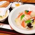 料理メニュー写真中華丼セット