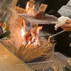【禁煙席】見た目もインパクト大のお料理が目の前で調理されるのはテンション上がること間違いなしです。