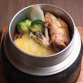 料理メニュー写真カレーチーズ釜飯