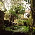 敷地内は四季折々の風景がお楽しみ頂けます