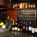 【和×フレンチ】フレンチ・・・グラスワイン約20種類!その日の気分に合わせて、後味スッキリのものからフルーティーな甘さのものまで数多く取り揃えています。