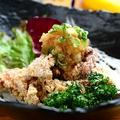料理メニュー写真若鶏の唐揚げ おろしポン酢