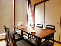 最大12名様までのテーブル個室☆