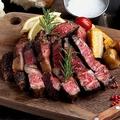 料理メニュー写真和牛のリブロースステーキ