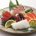 料理メニュー写真新鮮!刺身五種盛