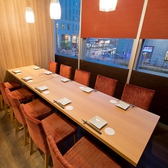 【会社宴会・同窓会・懇親会・合コン・女子会など、様々な用途&ご人数様でご利用頂けます】こちらのお席は接待向けの10名様までご利用頂けるテーブル席です!完全個室で人気のお席!ご予約はお早めにどうぞ!各種宴会にご利用頂ける人気の空間とおでのお食事、お酒をごゆっくりご堪能下さい。お気軽にお問い合わせを!