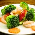 料理メニュー写真芝海老の卵白風味