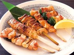 串焼き盛り合わせ5本(タレ・塩)