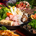 料理メニュー写真全日3時間飲み放題付 豪華地鶏料理10品 【紅焔-KOUENN-コース】
