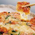 料理メニュー写真とろとろチーズのチヂミ