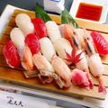 料理メニュー写真寿司盛り込み (3人前)