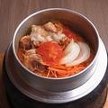 料理メニュー写真豚キムチ釜飯