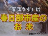 麦ぼうずの雰囲気3