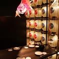 『秋田竿燈まつり』をモチーフとした7階