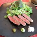 料理メニュー写真国産牛フィレ肉のステーキ