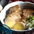 料理メニュー写真ラフティー(沖縄豚の角煮・煮玉子付き)