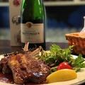 料理メニュー写真ニュージーランド産ラム肉使用 ラムチョップ